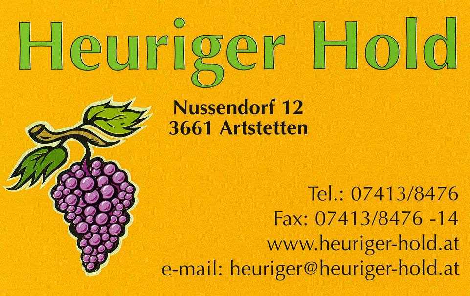 Heuriger-Hold